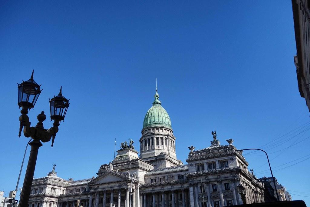 Buenos Aires - Palacio Congreso