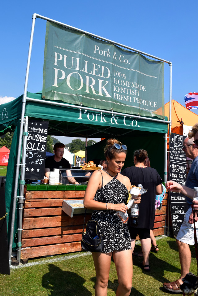 Pork & Co. Pulled Pork at We Love Hythe Food Festival | www.rachelphipps.com @rachelphipps