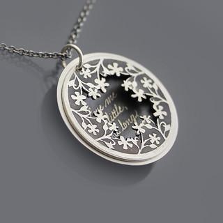 Love Me A Little Necklace