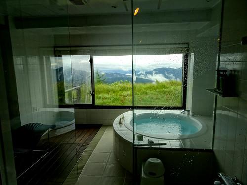 浴槽からも雲海!