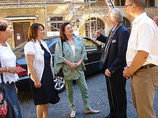 Besuch der spanischen Botschafterin