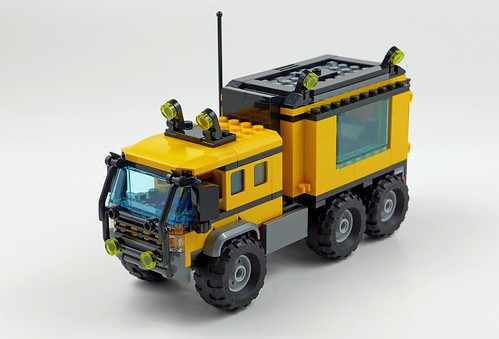 LEGO City Jungle 60160 Jungle Mobile Lab 41