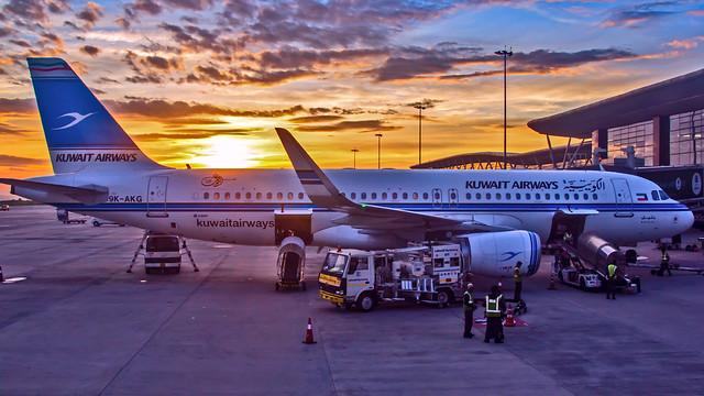 Kuwait Airways Airbus A320 9K-AKG