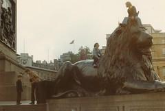 Trafalgar Square, London. 1972