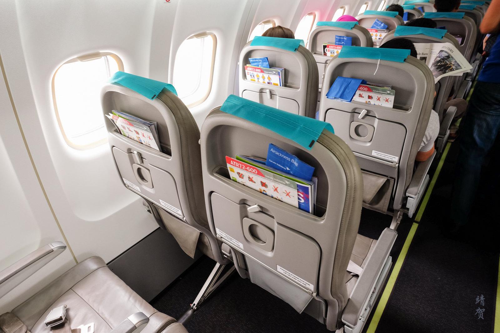 Boarding the ATR jet