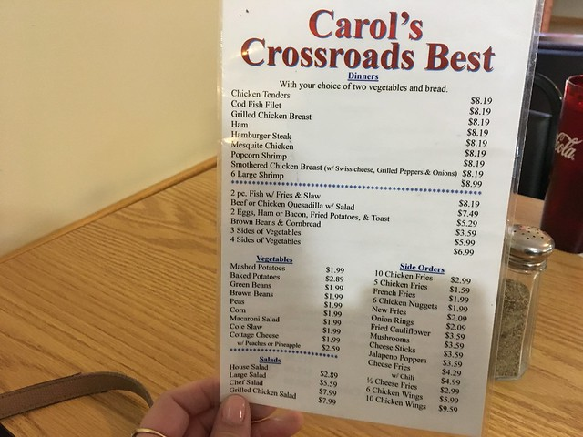 Carols Crossroads Best