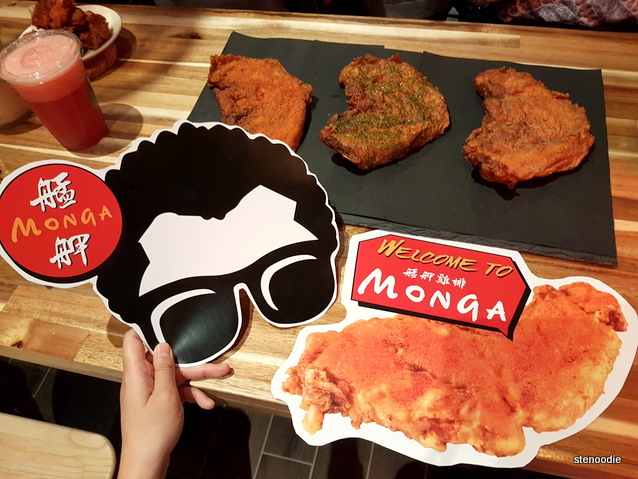 Monga Fried Chicken promo