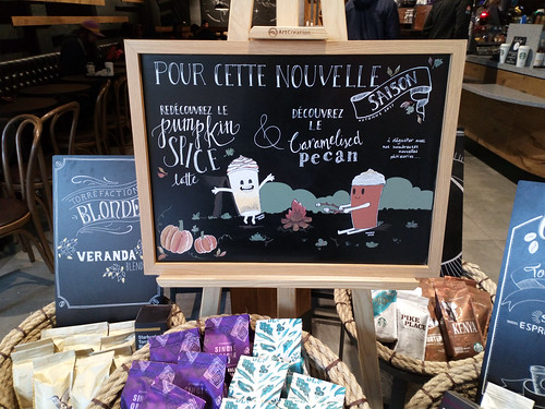 Cute Starbucks fall sign