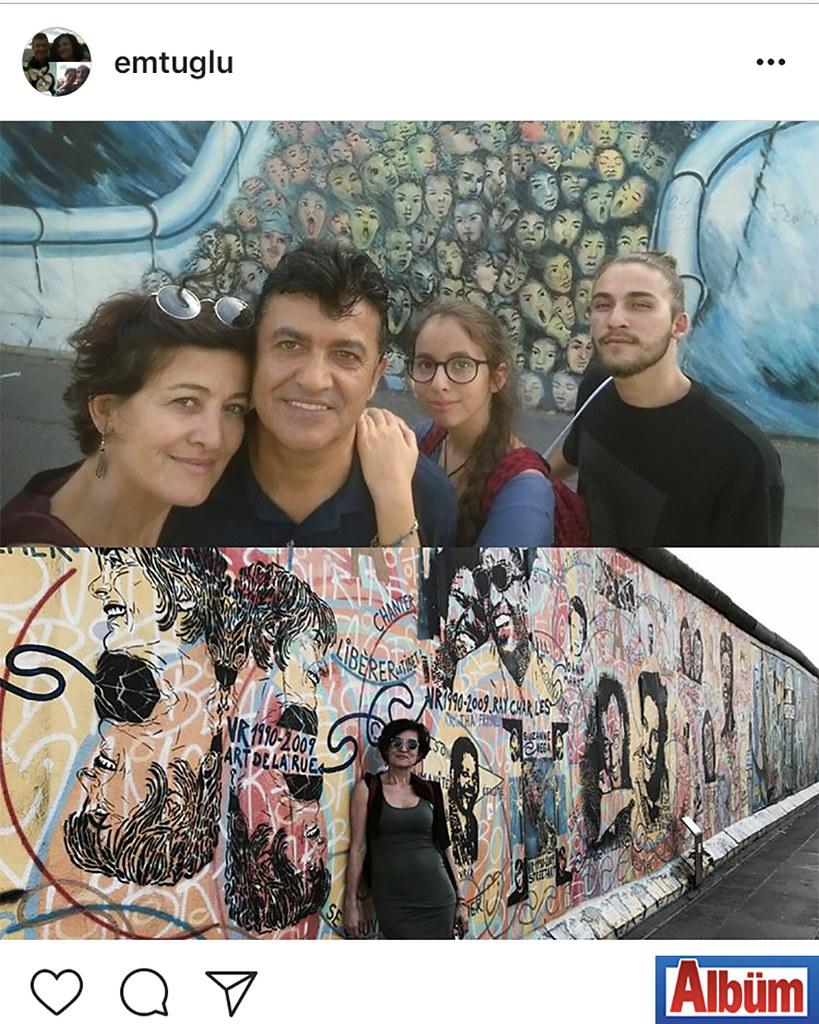 Emel Tuğlu, eşi Diş Hekimi Zeki Tuğlu ve çocuklarıyla birlikte Berlin'de keyifli bir tatil yaptı.