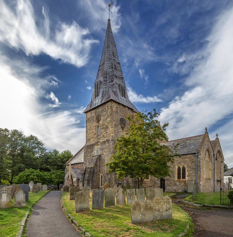 St Brannock's Church, Braunton, Devon. Credit Dietmar Rabich