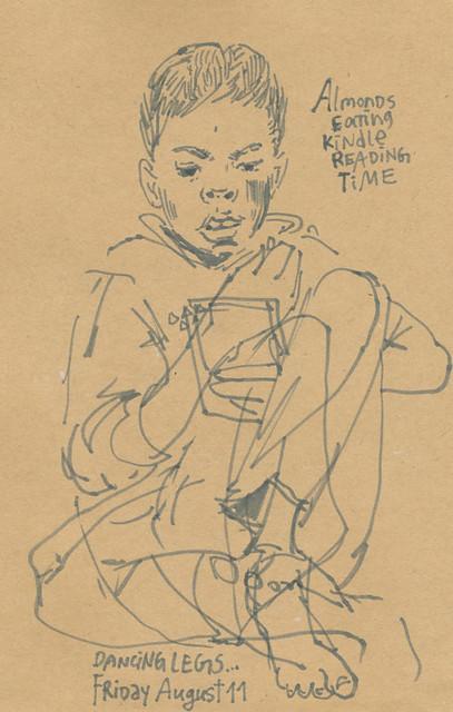 Sketchbook #107: Reading