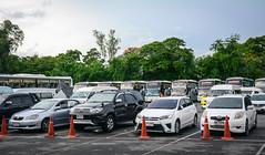 Parking lot at Bangkok Safari Park