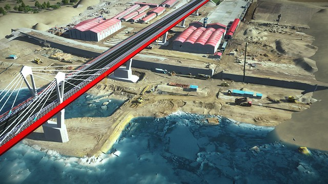 AI_16_Comprehensive BIM Strategy Helps Long Jian Road & Bridge Co., Ltd. Deliver CNY 2.4 Billion Amur River Bridge Connecting Russia and China (1)