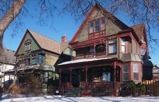 Historic houses in Minneapolis