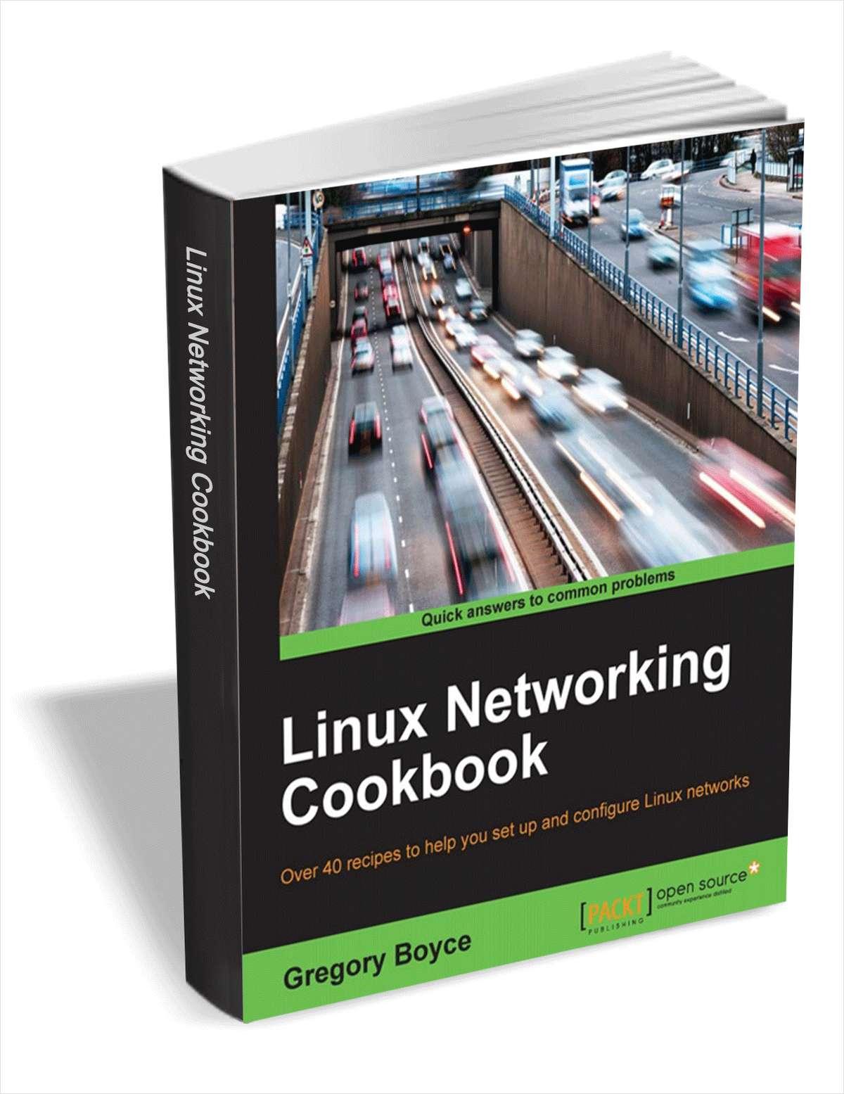 แจกหนังสือ Linux Networking Cookbook [ราคาขายตั้ง $17 เลยนะ]