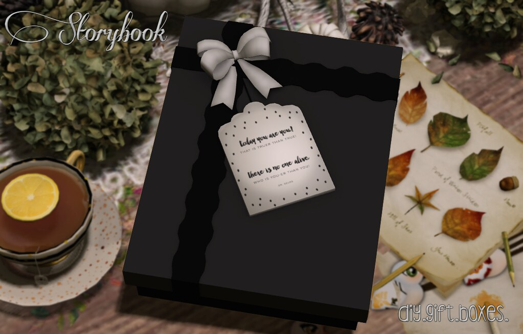 :Storybook: diy gift box [you!]