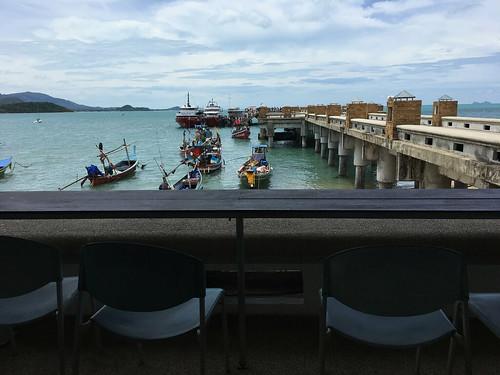 今日のサムイ島 9月26日 シートランディスカバリー現状 -タオ行き高速船