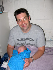 FR10 1225 Me & my new baby boy. Montréal, Aude