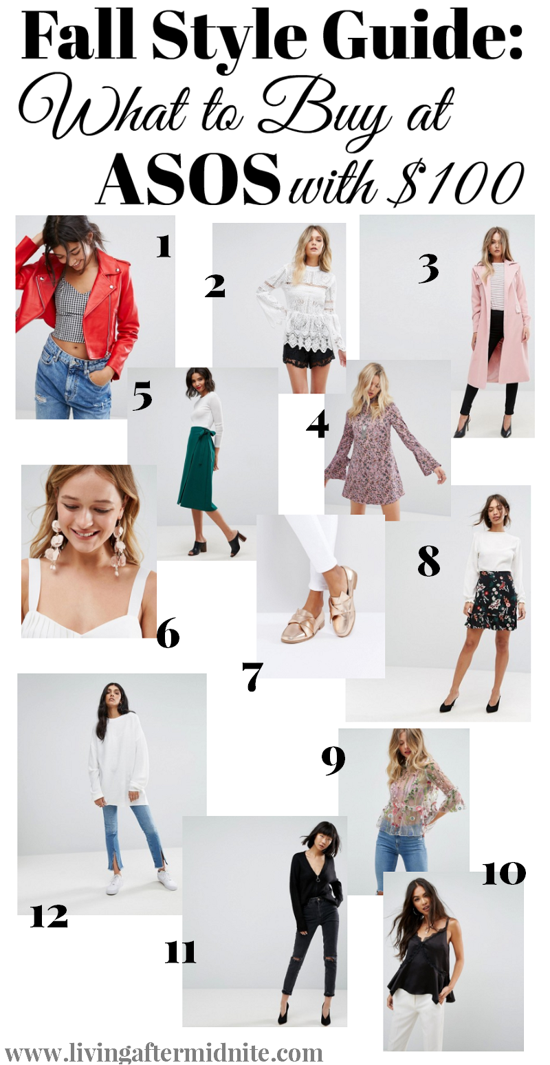 Fall Style Guide What to Buy at ASOS with $100