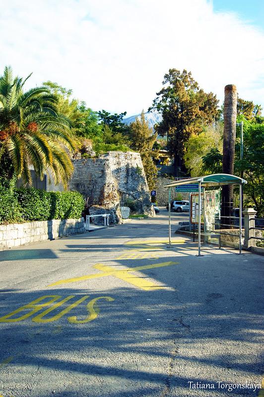 Остановка после крепости Форте Маре