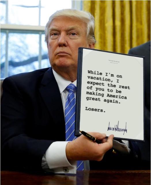 Trump_onvacation