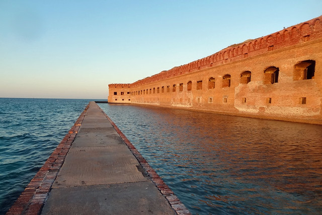 fort-jefferson-moat
