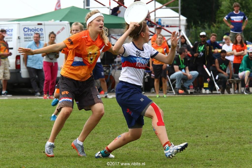 Finale EYUC2017: WU20 Nederland - Rusland