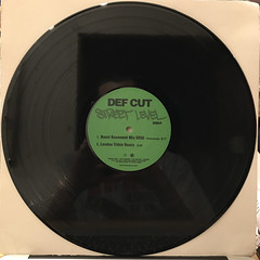 DEF CUT:STREET LEVEL REMIX(RECORD SIDE-A)