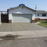 New Enlarged Driveway In Rio Vista
