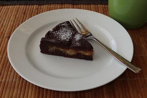 Schoko-Bananen-Kuchen (vorletztes Stück)