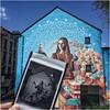 Instant Memories ... mural at Forest (Belgium) by Samuel Idmtal, Orlando Kintero, Julia Eva Perez