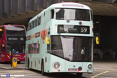 Wrightbus NRM NBFL - LTZ 1321 - LT321 - Chambord - King's Cross 59 - Arriva London - London 2017 - Steven Gray - IMG_0043