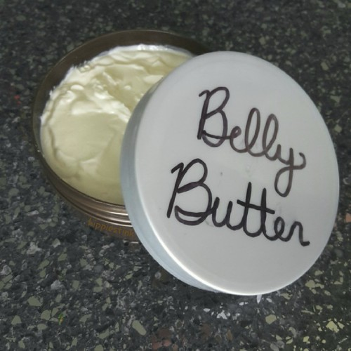 Oat Milk Belly Butter