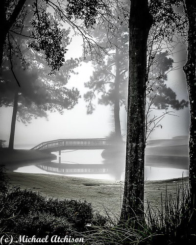 18th Hole in Fog | by AtchisonGallery