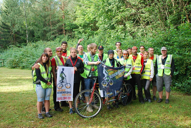 Minsk Bike Community volunteers