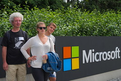 Visiting Microsoft