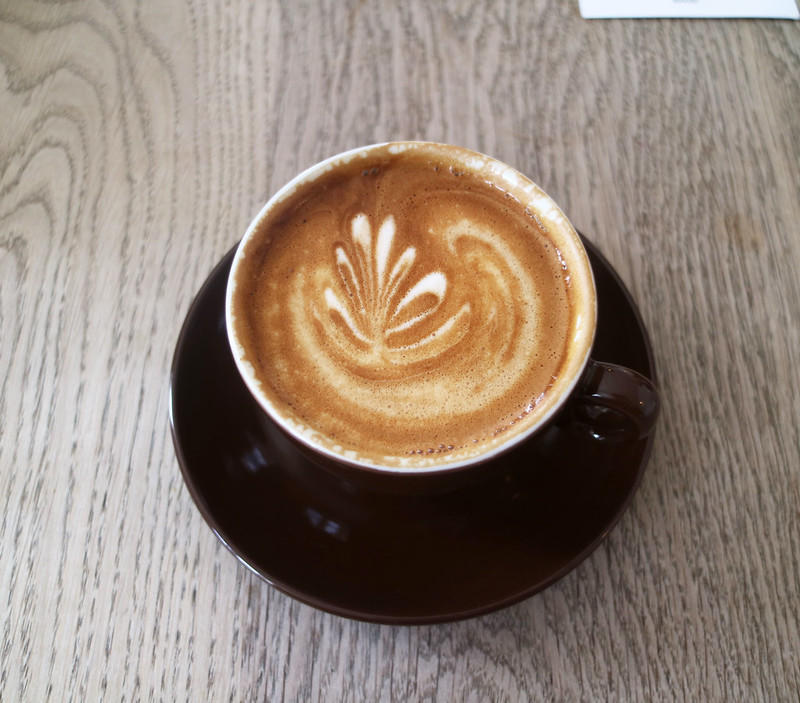 Coffee at Pump Street Bakery