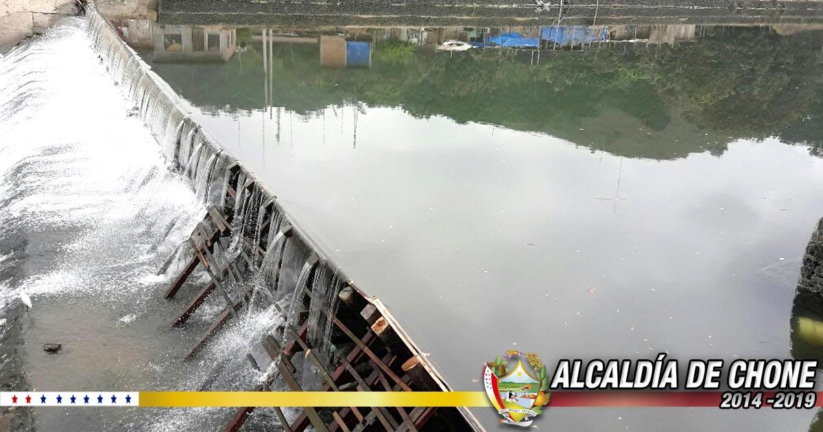 Mayor cantidad de captación de agua con instalación de pantalla de madera