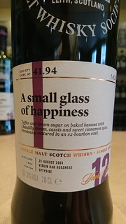 SMWS 41.94 - A small glass of happiness