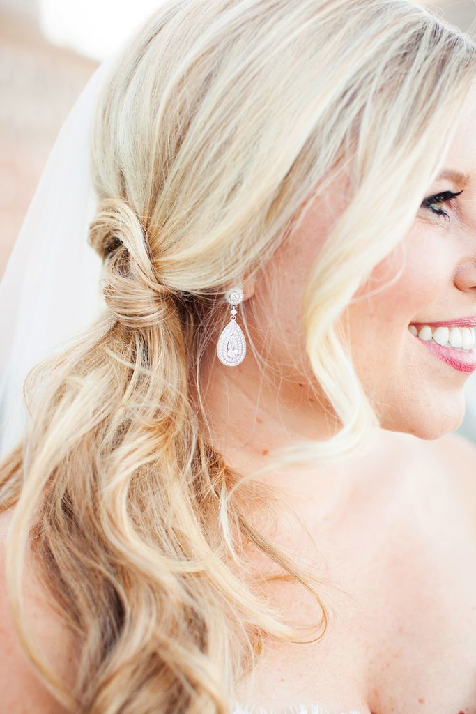 Wedding Hairstyle Ideas : An Elegant, Modern Wedding at San Francisco Ferry Building in San Francisco, California