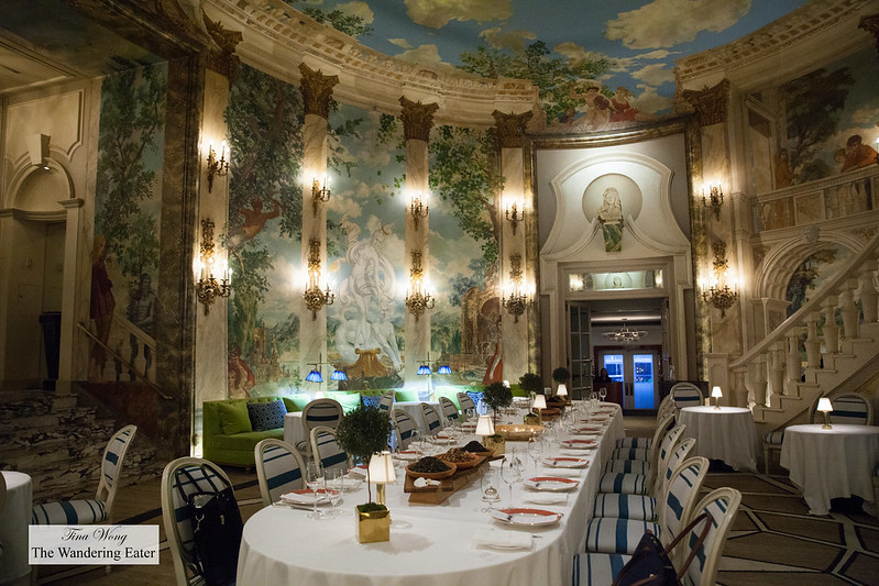 Gorgeous Rotunda for Palais des Thés x Perrine Chef's Social Club dinner