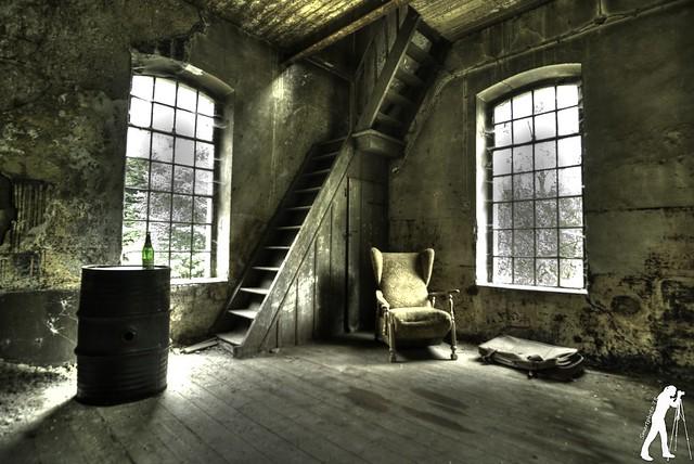 Lost Places: Sägemühle und Uhrenturm