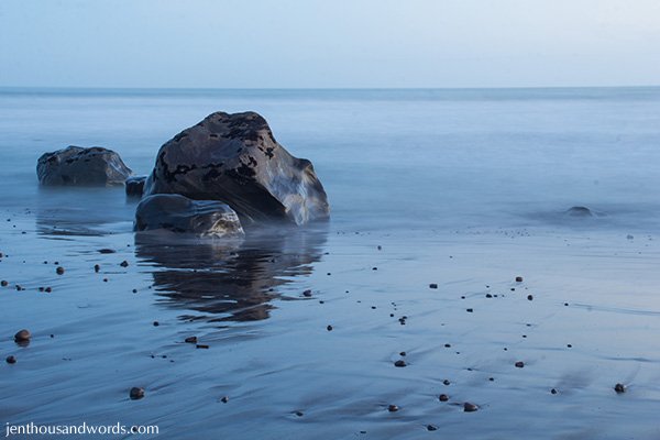 Beach at twilight 4