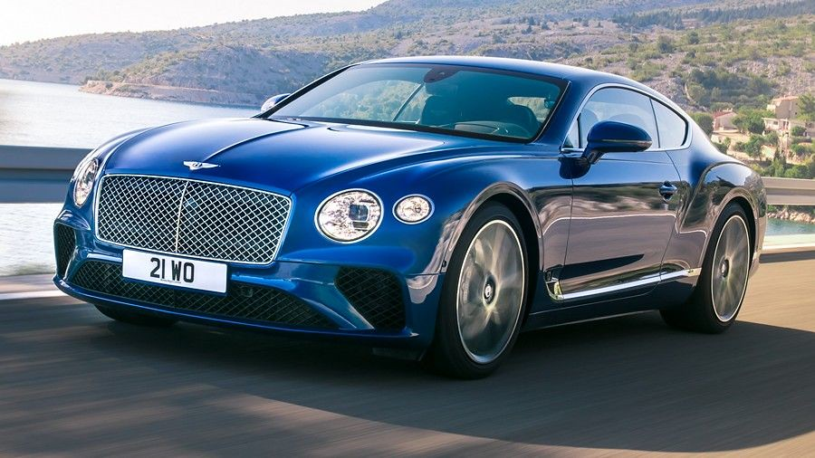 New Bentley Continental GT 01