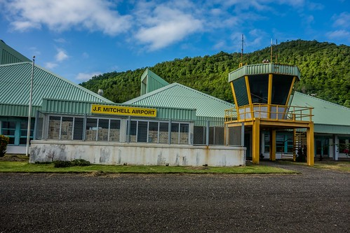 Bequia Airport SVG