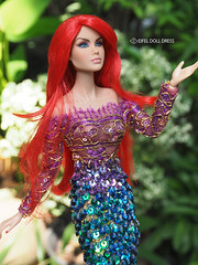 For Sell --- repaint FR Jems and Mermaid Dress