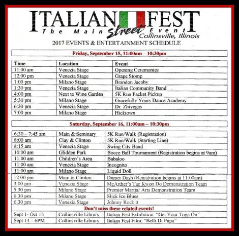 Italian Fest 2017