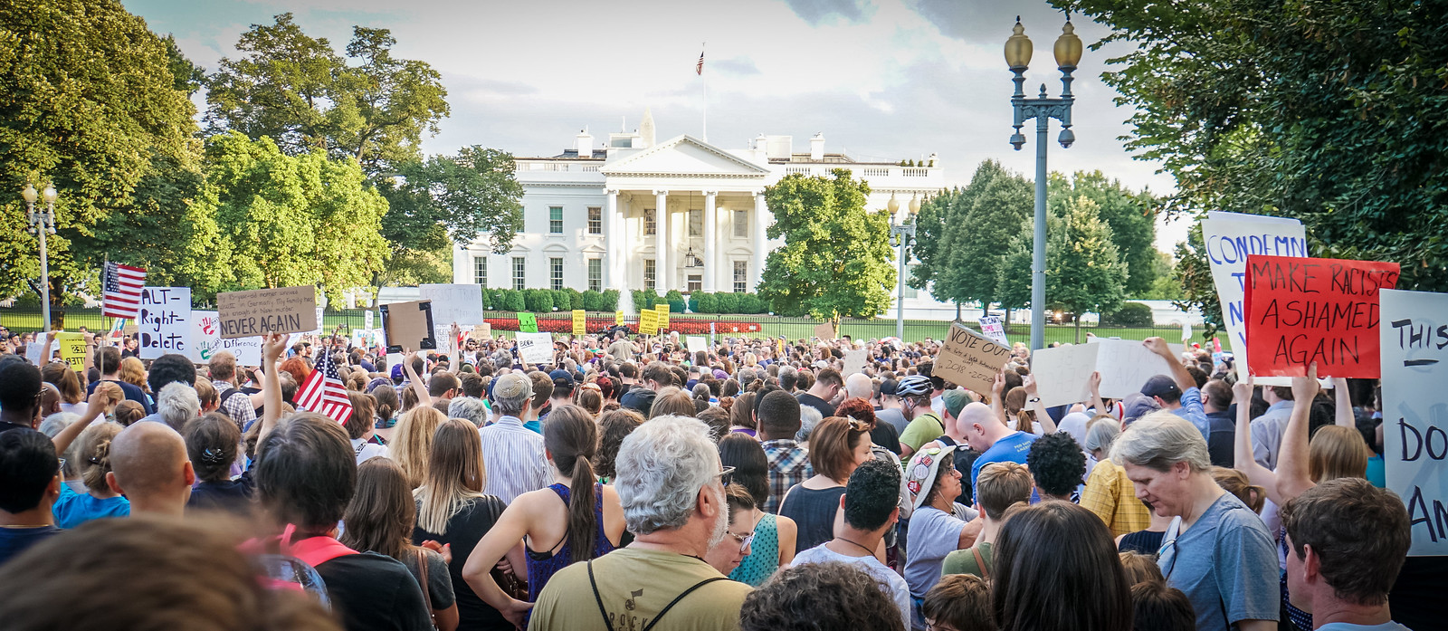 Thanks for publishing my photo, @DCist in Another Protest Planned Tonight Outside The White House