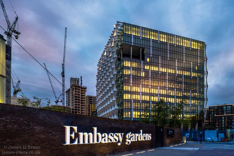 US Embassy, Nine Elms