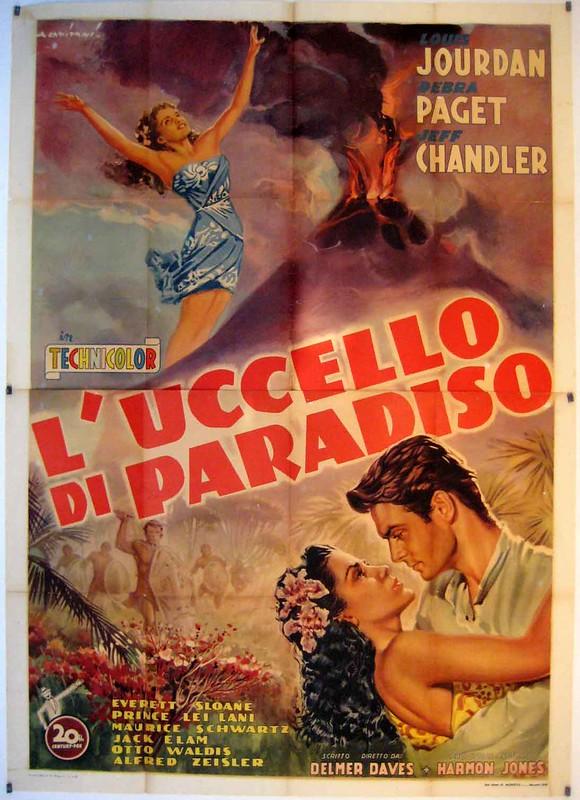 Bird of Paradise - 1951 - Poster 3